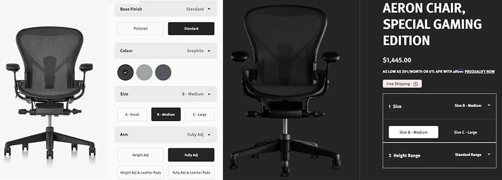 Aeron Classic vs Gaming Chairs