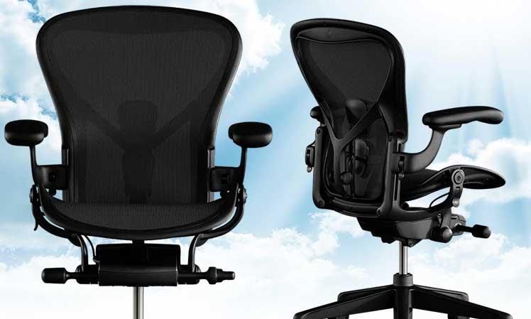 Herman Miller Aeron gaming chair