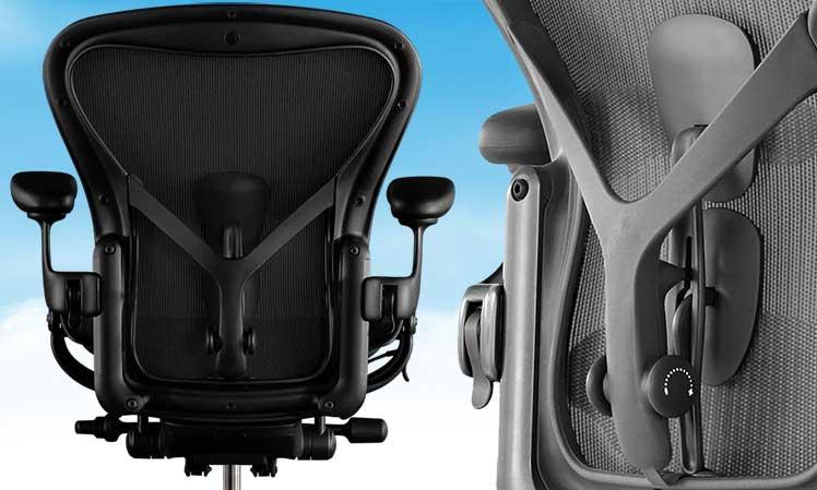 Herman Miller Aeron Posturefit lumbar support