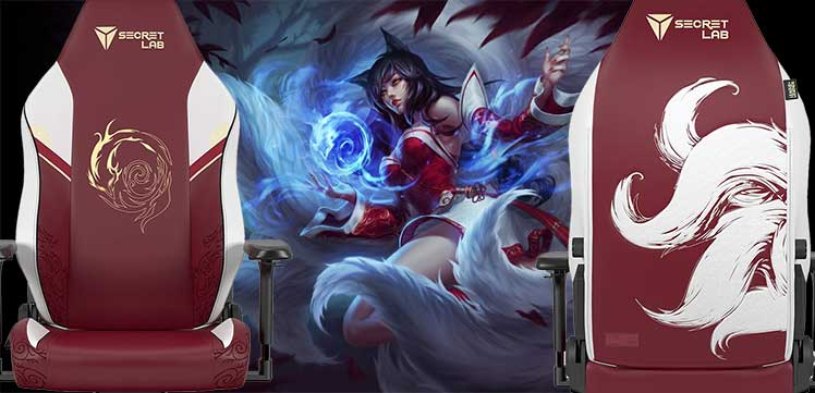 Ahri League of Legends gaming chair
