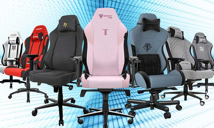 Best fabric gaming chair designs of the year