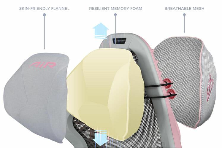 DXRacer Air headrest