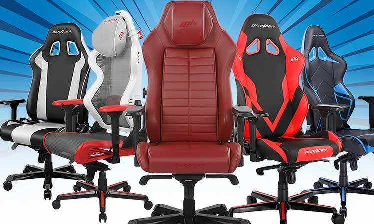 Five best DXRacer gaming chairs