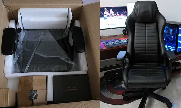 DXRacer Master chair assembly guide