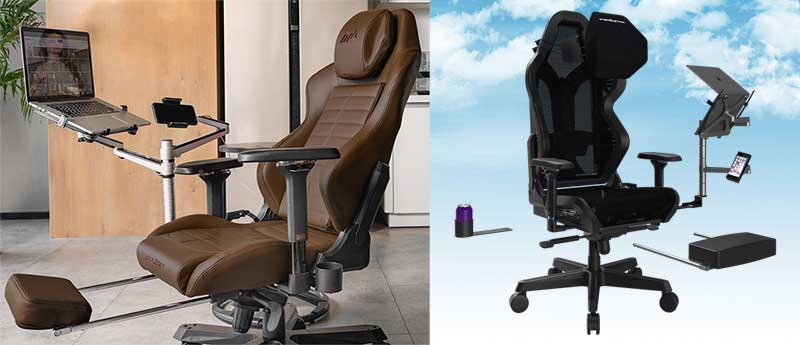 DXRacer modular gaming chair design