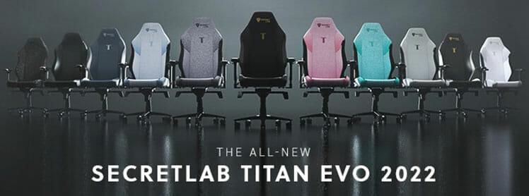Titan EVO 2022 Series gaming chair