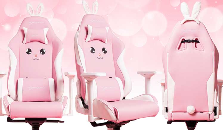 Champion Series Pink Bunny gaming chair