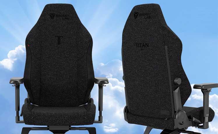 2022 Series SoftWeave Triple Black chair