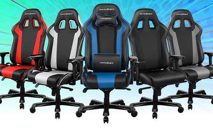DXRacer K-Series gaming chairs