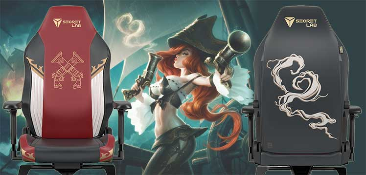 Miss Fortune gaming chair