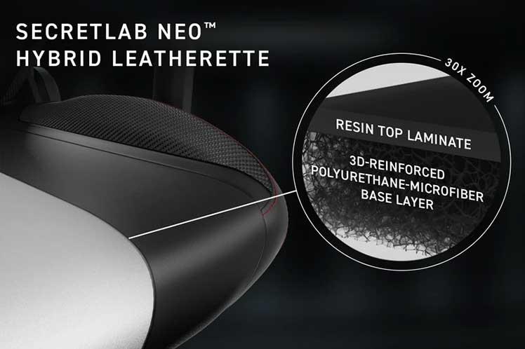 Secretlab NEO Hybrid Leatherette upholstery
