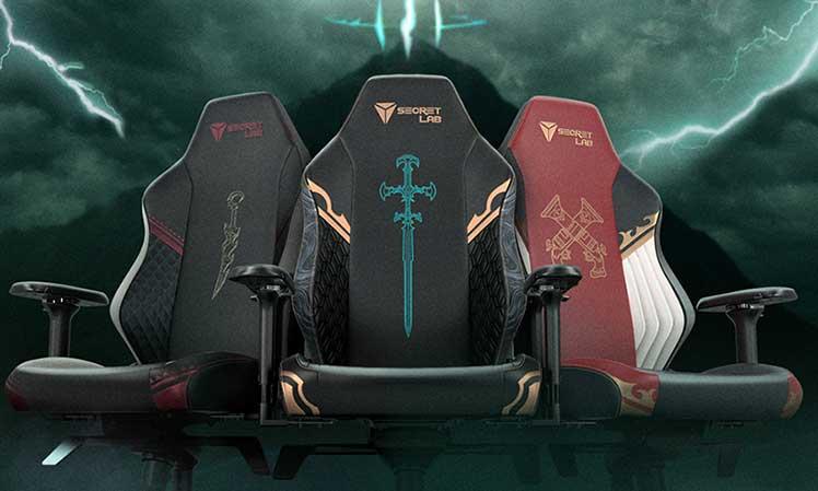 Secretlab League of Legends Ruination chairs