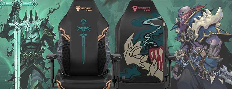 Secretlab Ruination gaming chairs