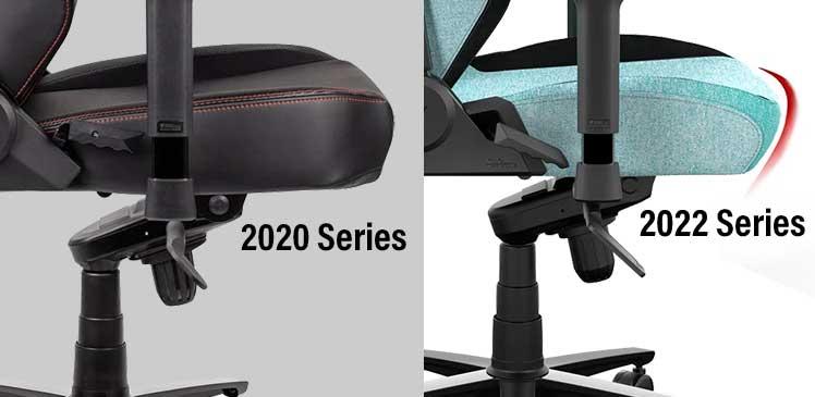 Secretlab Titan waterfall seat edge