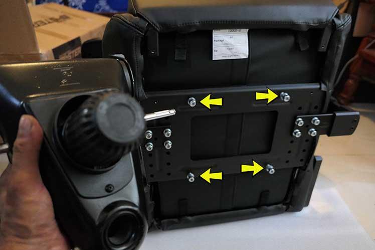 Attach tilt mechanism DXRacer Master