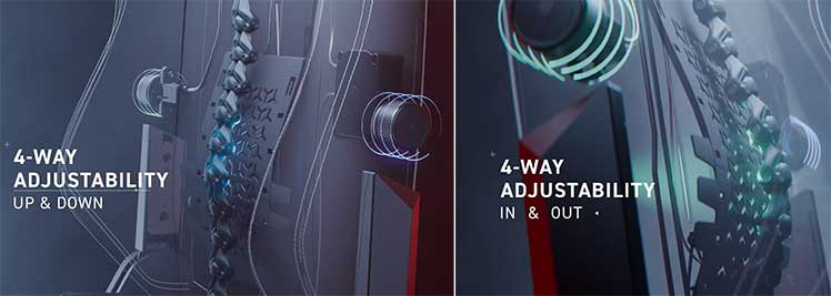 Titan Evo 2022 Series lumbar support