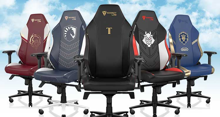 Titan EVO 2022 Series esports designs