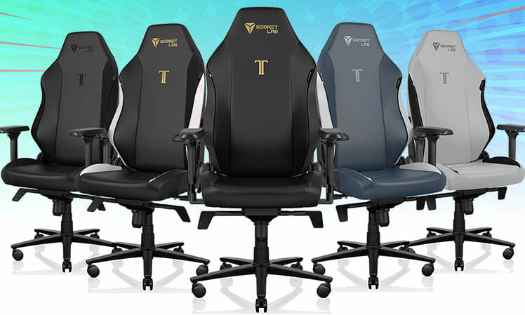 Neo Hybrid Leatherette gaming chair faux leather