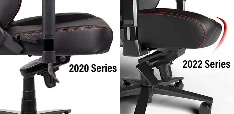 Titan Evo 2022 Series waterfall seat style