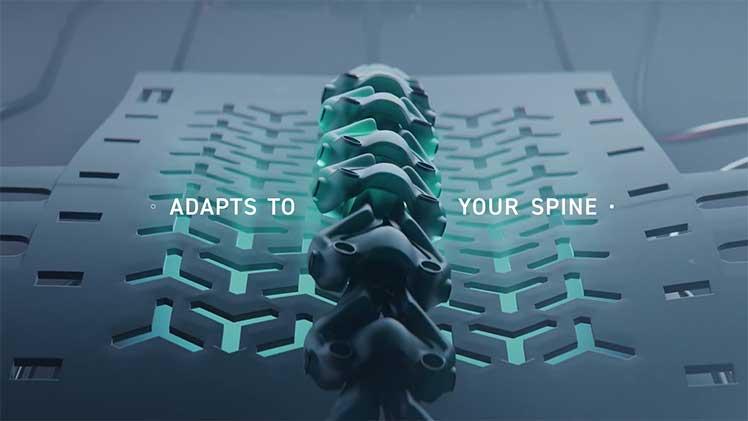 Secretlab Titan lumbar support technology