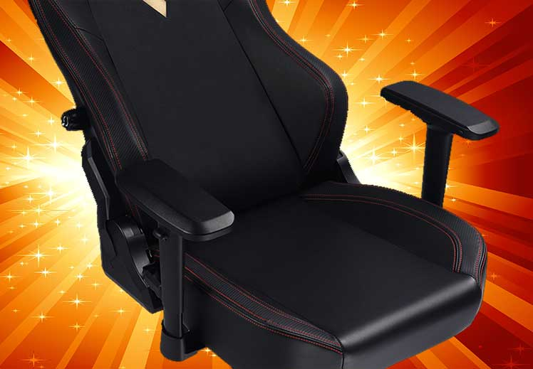 GTRacing Ace L3 Black gaming chair
