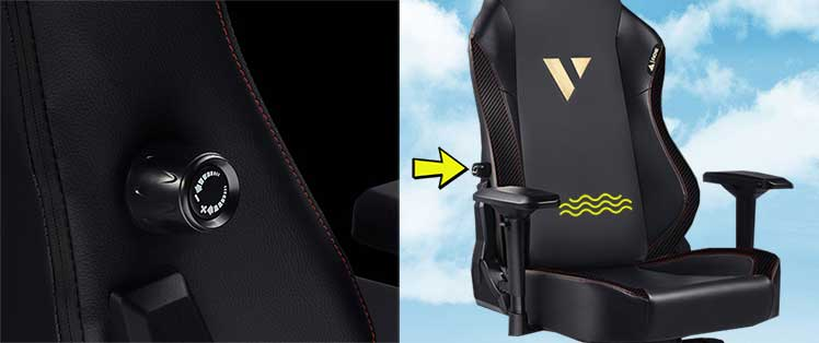 Ace L3 integrated lumbar support