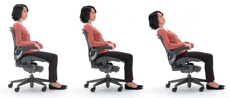 Herman Miller Aeron neutral posture