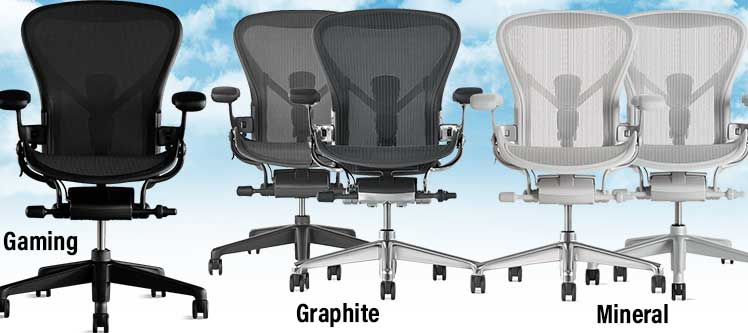 Aerom gaming chair styles