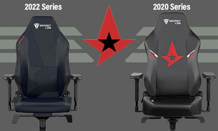 New Astralis gaming chair design