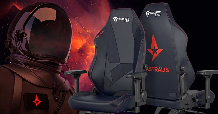 Astralis esports gaming chairs