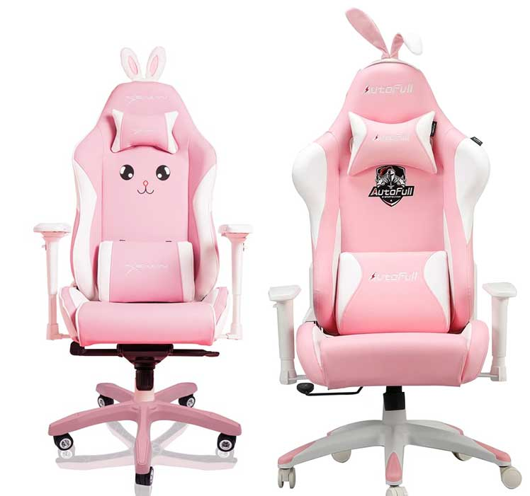 Pink bunny chair comparison