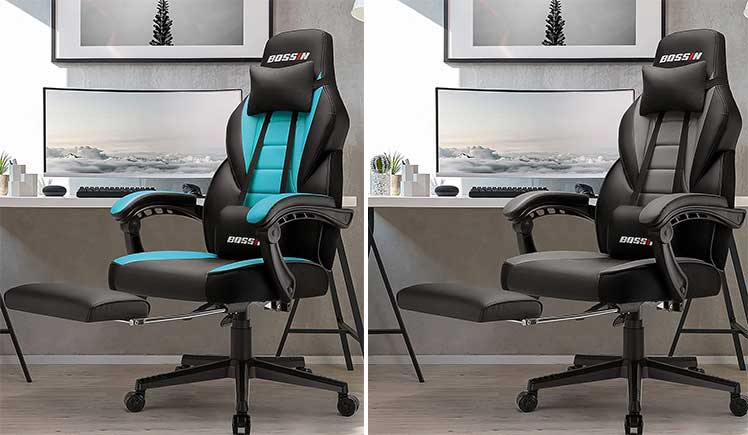 Bossin wide sized gaming chair