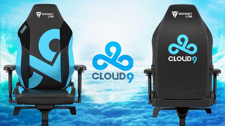 Secretlab Cloud9 gaming chair