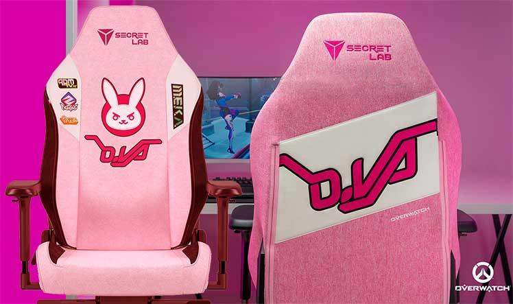 2022 Series Overwatch D.Va gaming chair