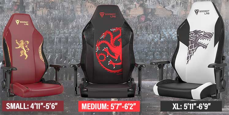 Game of Thrones 2022 Series gaming chairs