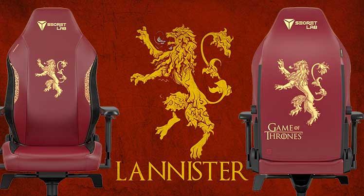Secretlab House Lannister gaming chair