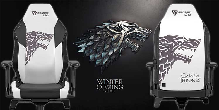 House Stark 2022 Series gaming chair
