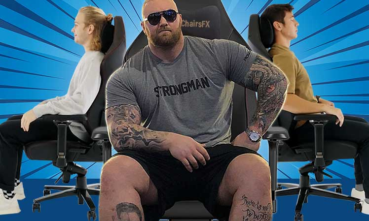How do you sit in a gaming chair?
