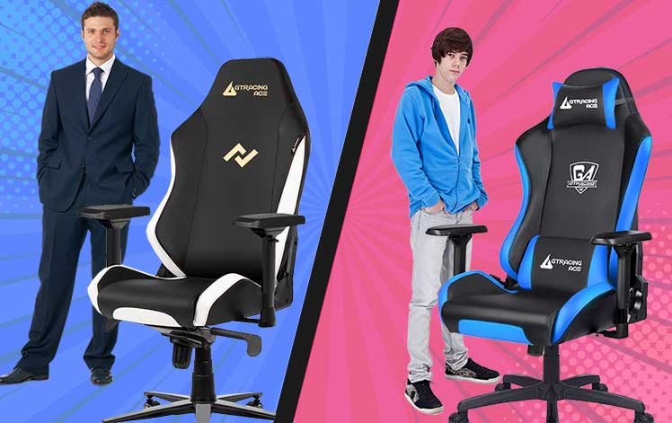 Ace M1 vs S1 chair sizing