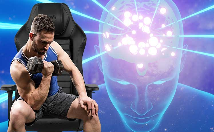 Developing muscle memory in a gaming chair