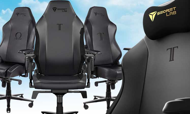 Secretlab NAPA leather gaming chairs