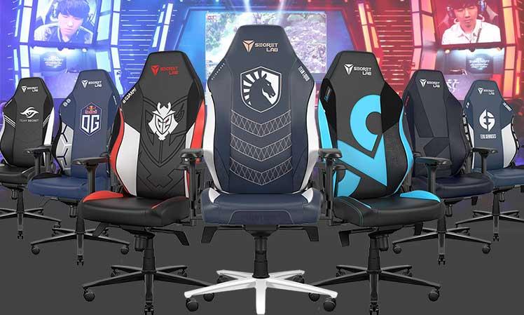 Secretlab pro esports team chairs