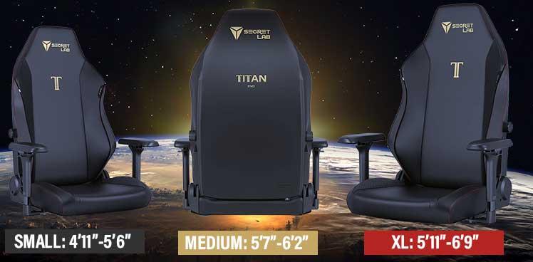 Secretlab Titan Stealth gaming chair