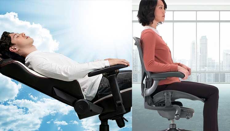 Titan + Aeron chair work from home combination