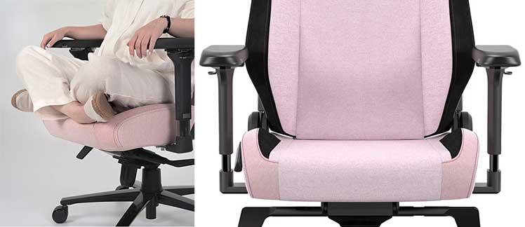Titan chair flat seat style