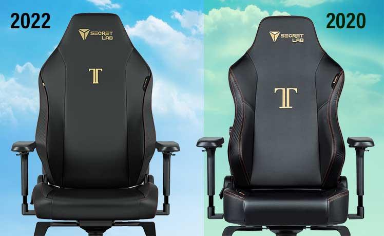 Titan chair seat styles