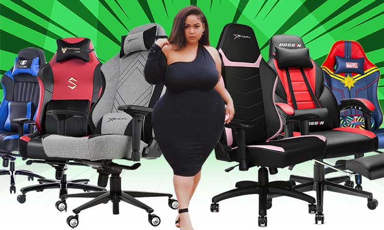 Cheap gaming chairs with wide seats