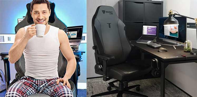Secretlab Titan for office worker