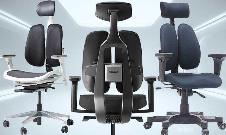 Duoback ergonomic chairs