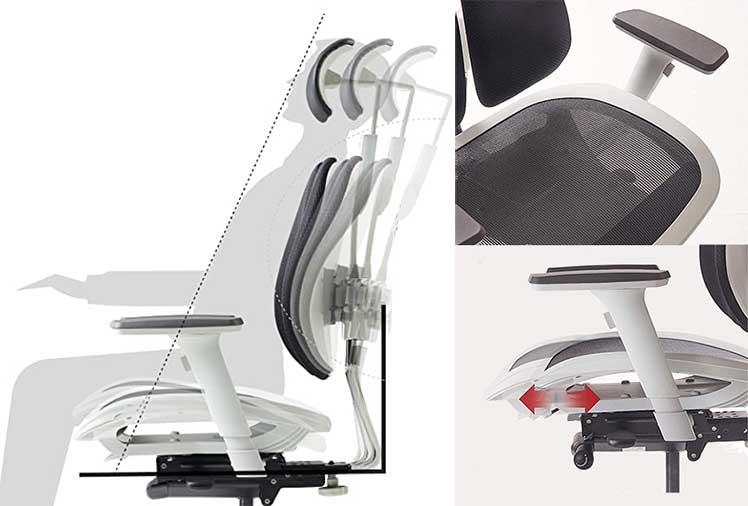 Duorest Alpha ergonomic features